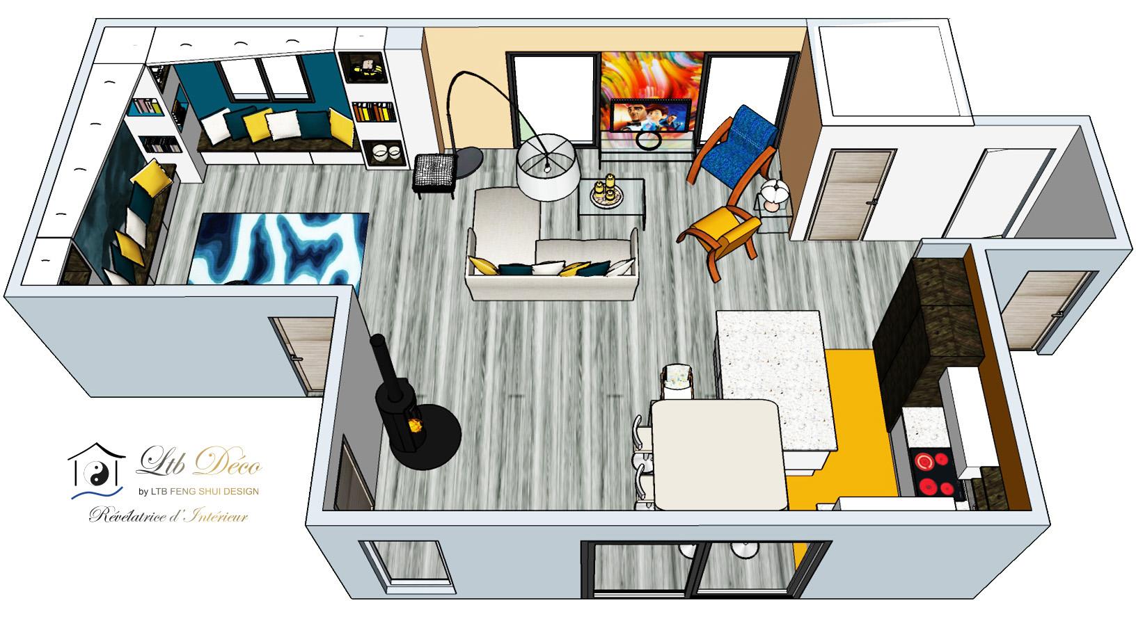 LTB FENG SHUI DESIGN - Illustration expertise feng shui